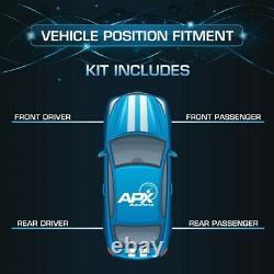 Front Rear Left Right Set Shocks Struts for Dodge Sprinter 2500