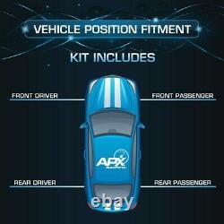 Front Rear Set Complete Strut Assembly fits 03-04 Subaru Legacy