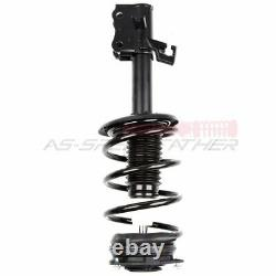 Front Set 2 Complete Strut Assemblies For Nissan Sentra 2007-2012 with Spring Pair