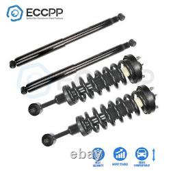 Front Struts & Rear Shocks For Ford F-150 2004-2008 with Coil Spring & Mount Set