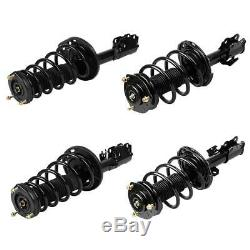 Full Set of 4 Front & Rear Shocks Struts Assemblies for Toyota Camry 2007-2011