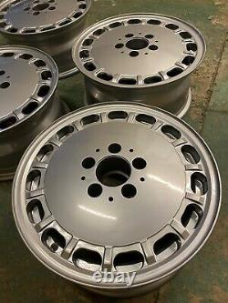 GENUINE Mercedes SL R107 W126 Sec SE SEL 15 Alloy Wheels 1264003002 7J Set Of 4