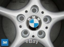 Genuine Bmw Z4 Series 18 Two Piece 5 Spoke Light Alloy Wheel Set 6758194 195