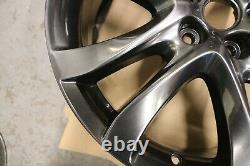Genuine Original Set 4 Mazda 6 & Cx-5 19 Alloy Wheel Rims Chrome 9965087590