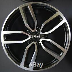Genuine Set Alloy Rims 21 Inch Audi Q5 Sq5 8r