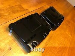 Harley Twin Cam Rocker Box Set 1999-2017 Freshly GLOSS BLACK Powder Coated NICE