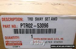 Lexus IS250 IS350 (2006-2013) (AWD) OEM Genuine F-SPORT SWAY BAR SET PTR02-53096