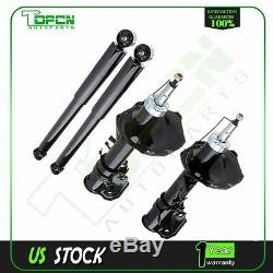 New Front Rear Full Set Struts Assembly Shocks For Pathfinder 96-98 & QX4 97-98
