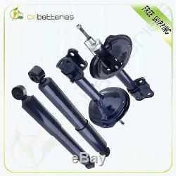 New Full Set Of 4 Shocks & Struts For 2003-2006 Acura MDX 3.5L 72229 72230