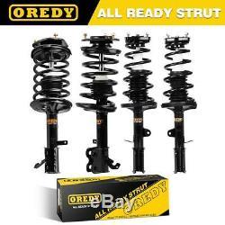 OREDY Full Set Struts Coil Spring For Toyota Corolla 93-02 For Chevy Prizm 98-02