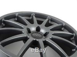 RacingLine Cup Edition Wheels Set of 4 (Gunmetal Grey) 18 x 8 ET45