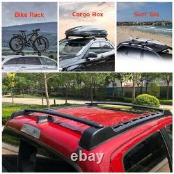 Roof Rack Cross Bars Rail Set for Toyota Tacoma 2005-2020 oe style no drilling