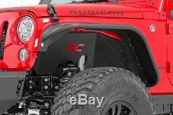 Rough Country Inner Fenders Set (fits) 2007-2018 Jeep Wrangler JK