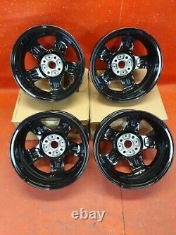 SET Mini One 15 INCH Alloy Wheels 4x100 5.5Jx15 ET45 BLACK 5 SPOKE 6768498 X4