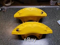 SS CAMARO POWDER COATED BRAKE CALIPERS set of 4, 2016,17,18