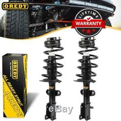 Set (2) Front Shock Strut Assemblies withMounts For Chrysler Town & Country 08-12