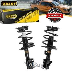 Set (2) Front Shocks Struts Coil Springs For Nissan Altima 4CYL FWD ONLY 07-12