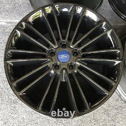 Set (4) 18 Inch Wheels Ford Fusion 2013-2020 Oem Powder Coat Black 3960