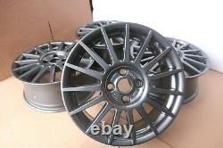 Set 4 Genuine Original Ford Focus Mk1 St170 17 Alloy Wheel Rims Gunmetal 2m5vbd