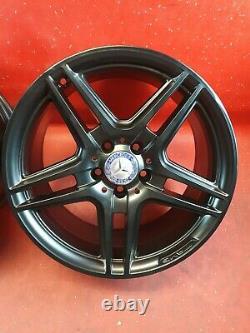 Set Genuine Alloy Wheels 18 Inch Mercedes C-class W204 Refurbished Black