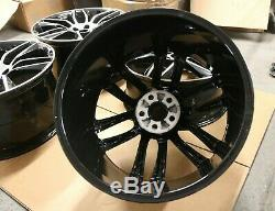 Set Genuine Original Oem Jaguar F Type 20 Gyrodyne Alloy Wheel Rims 9j & 10.5j