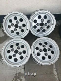 Set Of Four Ford Pepperpot Alloy Wheels 6x13 Fiesta XR2 Capri