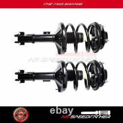 Set of 2 Front Quick Complete Struts Assembly Shock For 00-05 Mitsubishi Eclipse