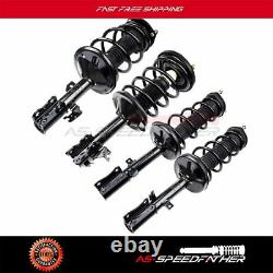 Set of 4 For 2002-2003 Lexus ES300 3.0L Complete Shocks Struts with Coil Springs