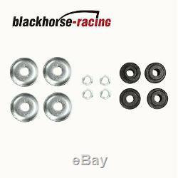 Set of 4 Front and Rear Shocks Struts Kit For 1995-2005 Chevrolet Blazer Black