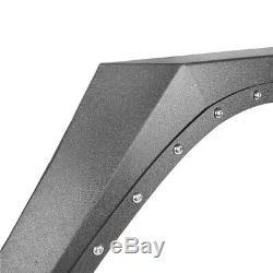 Steel Full Set Armour Style Front &Rear Fender Flares For Jeep Wrangler JK 07-18