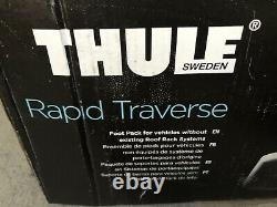 THULE Rapid Traverse 480R Complete Set of 4 with Locks & Keys