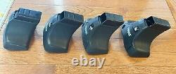 THULE Traverse 480 Roof Rack Foot pack Complete Set of Four 4 feet +INSTRUCTIONS