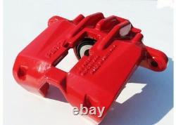 TPS C5 Corvette 1997-2004 Red Powder Coated & Rebuilt Caliper & Bracket Set