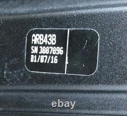 Thule AeroBlade Load Bars Set of 2 ARB43B Black 43 Inch Bars