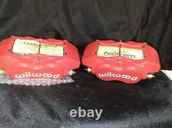 Wilwood 12-13516-RD Red Caliper Set New (see description)