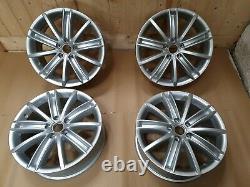 X4 7jx18 ET43 GENUINE New York VW Tiguan 18 INCH Alloy Wheels 5N0601025AF Set