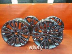 X4 GENUINE Range Rover Sport L494 21 INCH LR020 DT GREY Alloy Wheels SET